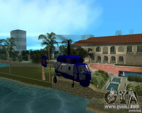 Ka-27 for GTA Vice City right view