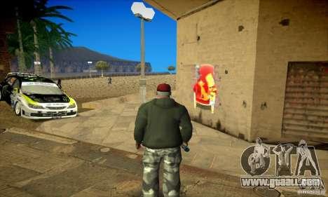 Simpson Graffiti Pack v2 for GTA San Andreas seventh screenshot