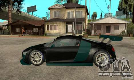 Audi R8 LMS for GTA San Andreas left view
