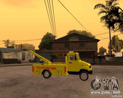 ZIL 5301 Bull hauler for GTA San Andreas right view