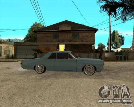 PONTIAC GTO 65 for GTA San Andreas right view