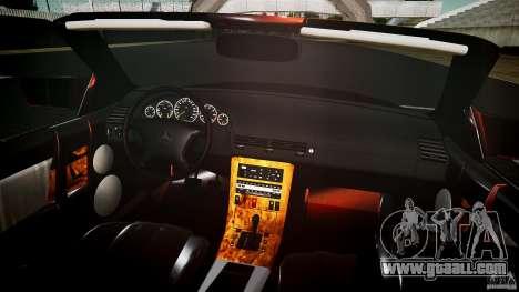 Mercedes Benz SL500 Custom for GTA 4 upper view