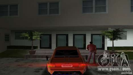 Zastava 110 GT for GTA Vice City right view