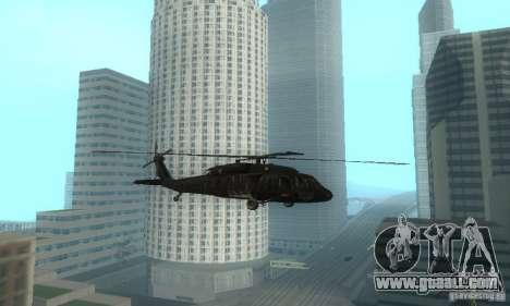 UH-60M Black Hawk for GTA San Andreas left view