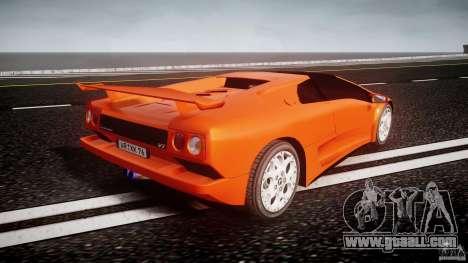 Lamborghini Diablo 6.0 VT for GTA 4 side view