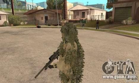 Skin sniper for GTA San Andreas third screenshot