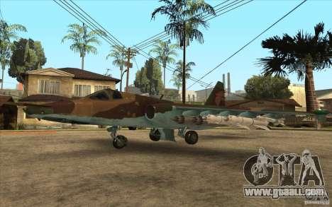 The Su-25 for GTA San Andreas