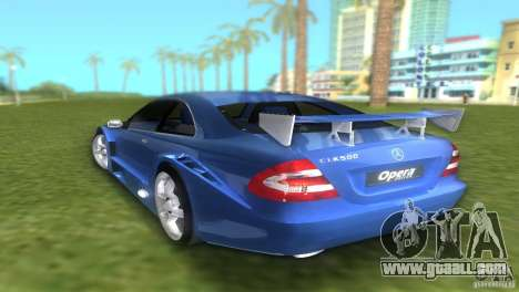 Mercedes-Benz CLK500 C209 for GTA Vice City left view