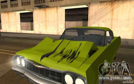 Chevrolet Impala SS 1964 for GTA San Andreas back left view