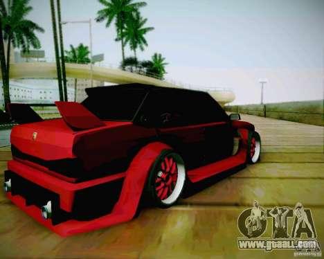 Tofas Dogan SLX DRIFT for GTA San Andreas back left view