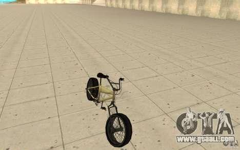 BMX Long for GTA San Andreas