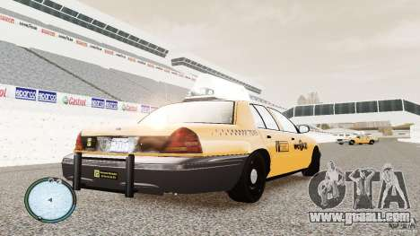 Ford Crown Victoria 2003 NYC Taxi for GTA 4 right view