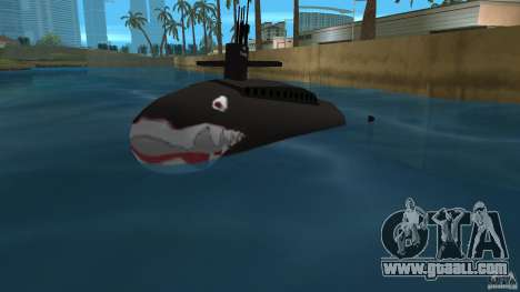 Vice City Submarine with face for GTA Vice City