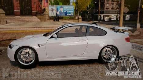 BMW E92 M3 Threep Edition for GTA 4 left view