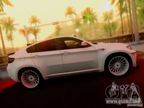 BMW X6 Hamann for GTA San Andreas right view