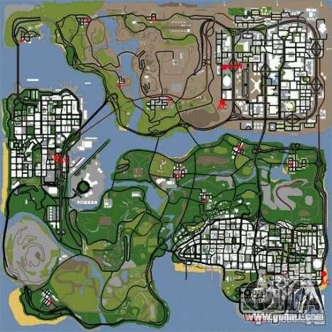 BUSmod for GTA San Andreas second screenshot