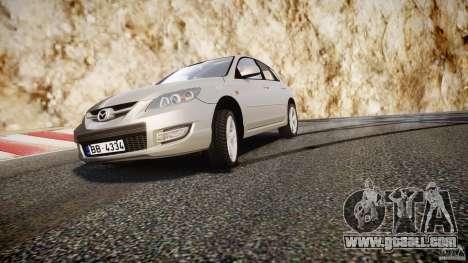 Mazda 3 2004 for GTA 4 engine