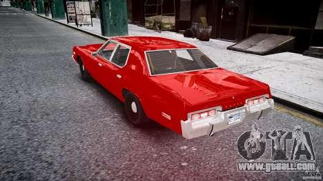Dodge Monaco 1974 stok rims for GTA 4 back left view