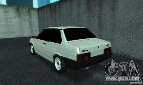 VAZ 21099 Coupe for GTA San Andreas back left view