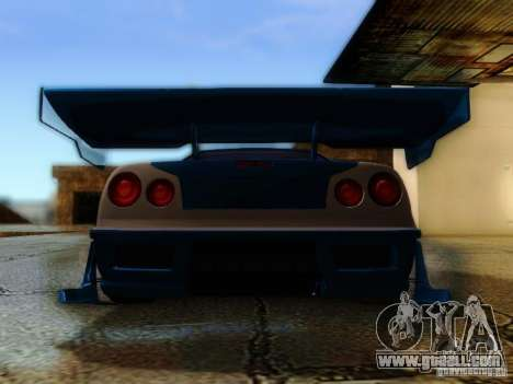 Nissan Skyline GTR34 DTM for GTA San Andreas inner view