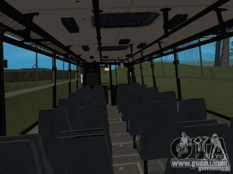 Ikarus C60 for GTA San Andreas right view