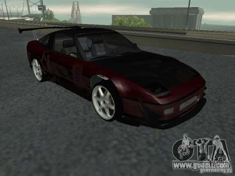 Nissan 240 SX for GTA San Andreas back view