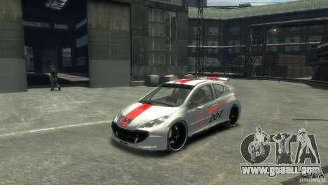 Peugeot 207 for GTA 4