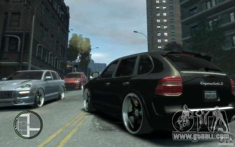 Porsche Cayenne for GTA 4 back left view
