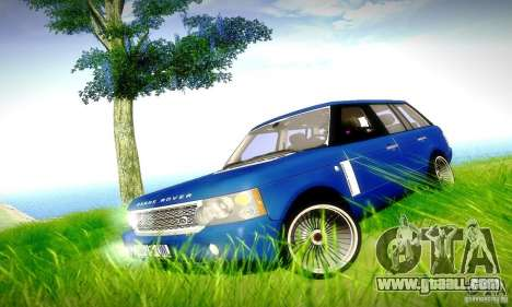 Range Rover Supercharged for GTA San Andreas engine