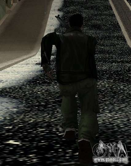 New animations 2012 for GTA San Andreas fifth screenshot