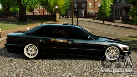 BMW 750iL E38 Light Tuning for GTA 4 left view