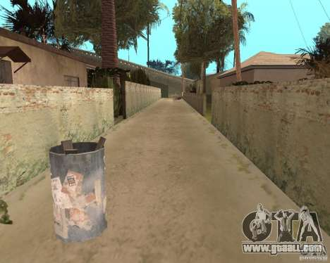 Remapping Ghetto v.1.0 for GTA San Andreas sixth screenshot