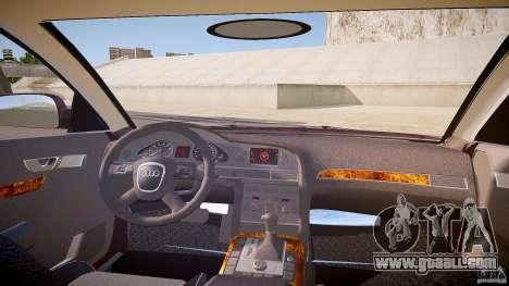 Audi A6 Allroad Quattro 2007 wheel 1 for GTA 4 inner view