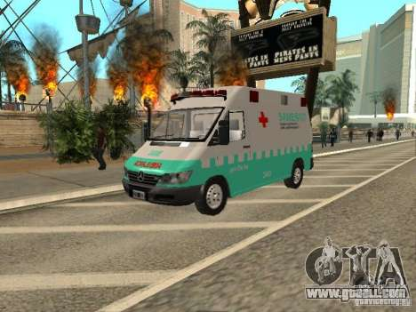Mercedes Benz Sprinter SAME for GTA San Andreas