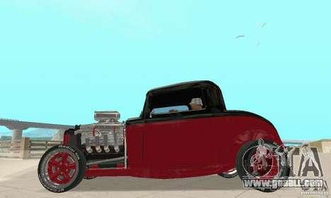 Ford Hot Rod 1932 for GTA San Andreas right view