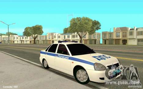 Lada Priora DPS for GTA San Andreas