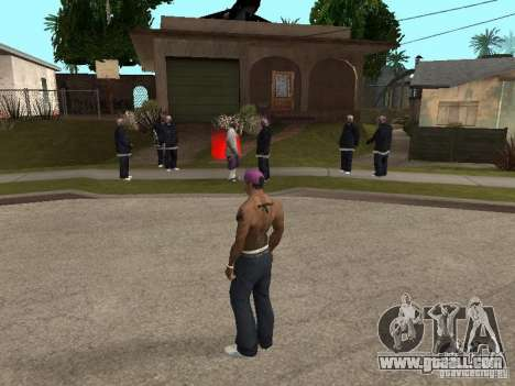 Ballas 4 Life for GTA San Andreas second screenshot