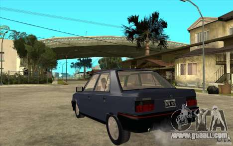 Renault 9 Mod 92 TXE for GTA San Andreas back left view