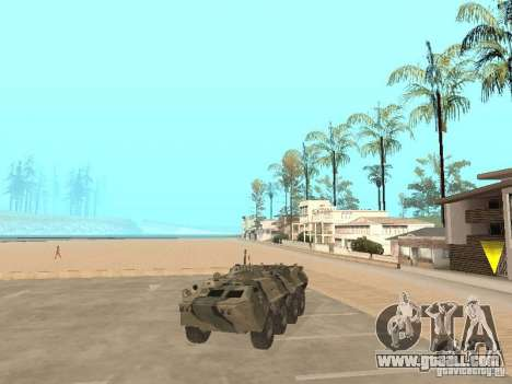 BTR 80 for GTA San Andreas