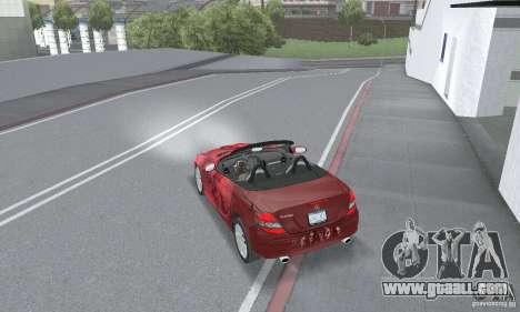 Mercedes-Benz SLK 350 for GTA San Andreas