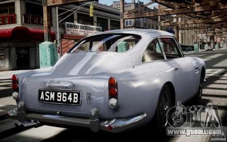 Aston Martin DB5 1964 for GTA 4 side view