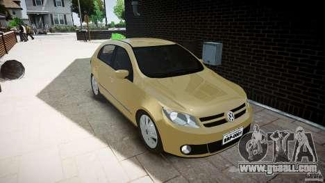 Volkswagen Gol 1.6 Power 2009 for GTA 4