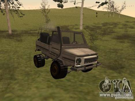 Luaz 969 Offroad for GTA San Andreas left view
