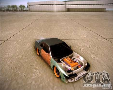Nissan Silvia S13 Under Construction for GTA San Andreas