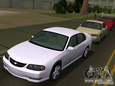 Chevrolet Impala SS 2003 for GTA Vice City
