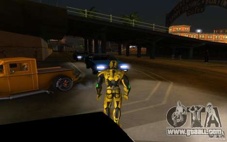 Cyrax 2 from Mortal kombat 9 for GTA San Andreas second screenshot