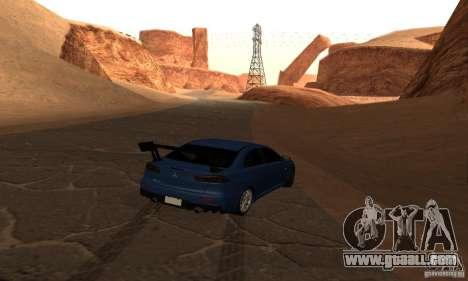 New Drift Zone for GTA San Andreas eighth screenshot