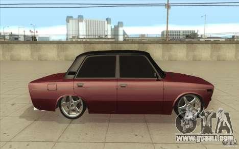 Vaz 2106 Lada for GTA San Andreas inner view