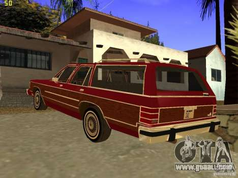 Mercury Grand Marquis Colony Park for GTA San Andreas left view