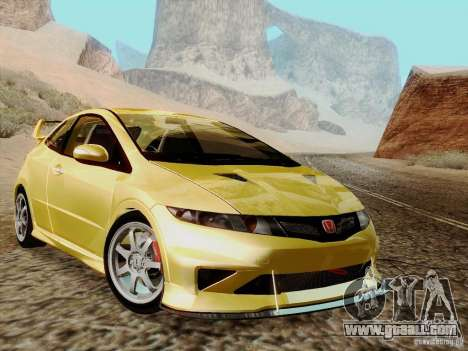Honda Civic TypeR Mugen 2010 for GTA San Andreas right view